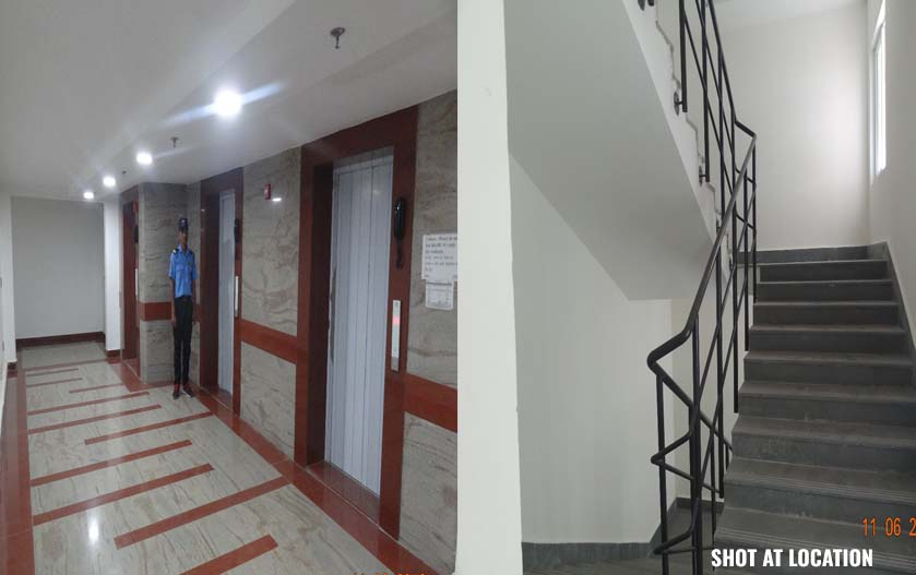 Lift Lobby & Stair case finishing